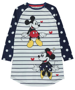 Disney Minnie and Mickey Mouse Nightdress