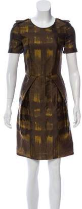 Burberry Metallic Knee-Length Dress