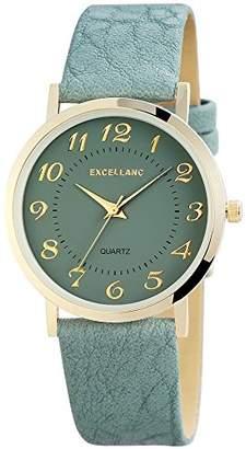 Excellanc Women's Quartz Watch 195021600180 with Leather Strap