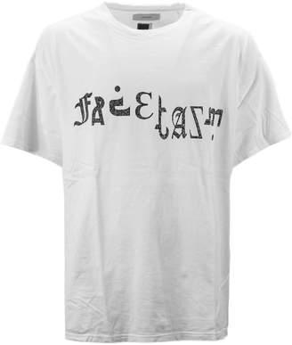 Facetasm White Cotton T-shirt.
