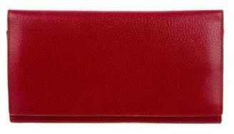 Smythson Textured Leather Travel Wallet