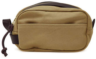 Filson Travel Kit with Leather