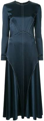 Cédric Charlier fitted panelled dress