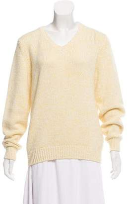 Loro Piana Long-Sleeve Cashmere Blend Sweater