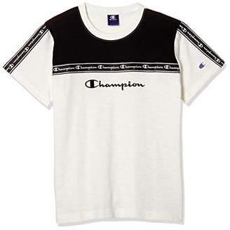 Champion (チャンピオン) - [チャンピオン] Tシャツ CX7151 ボーイズ ホワイト 日本 130 (日本サイズ130 相当)