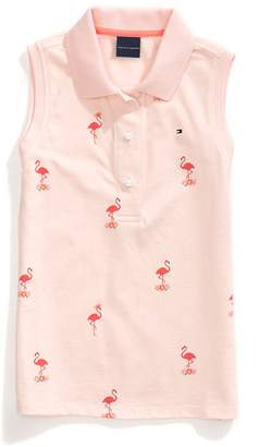 Tommy Hilfiger Sleeveless Flamingo Polo