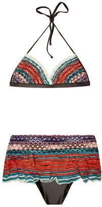 Missoni Mare Bikini with Skort Bottoms