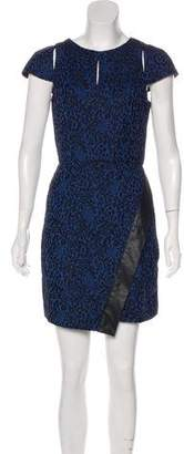 Walter W118 Baker Zayne Jacquard Mini Dress