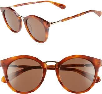 Kate Spade Joylyn 50mm Round Sunglasses
