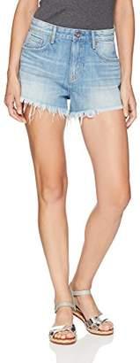 Denim Bloom Denim Shorts for Girls