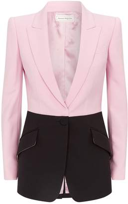 Alexander McQueen Colour-Block Jacket