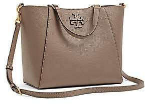Tory Burch Women's Small McGraw Leather Tote