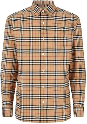 Burberry Vintage Check Long Sleeve Shirt