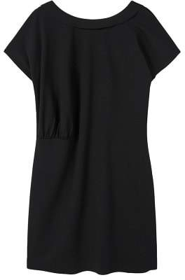 Violeta BY MANGO Ruched detail dress