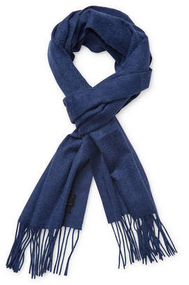 Qi Solid Cashmere Rectangular Scarf