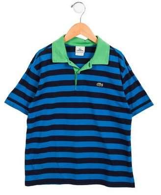Lacoste Boys' Striped Polo Shirt