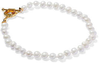 Catherine Canino Mother-of-Pearl Pebble Necklace - Pearl