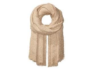 Echo Lurex Tweed Wrap Scarf