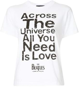 Comme des Garcons All You Need Is Love T-shirt