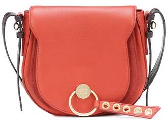 See by Chloe Lumir Large leather shoulder bag