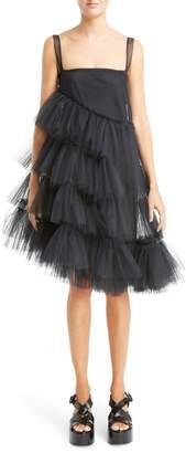 Simone Rocha Turbo Tiered Tulle Dress