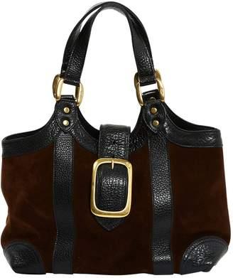 J&M Davidson J & M Davidson Brown Suede Handbag