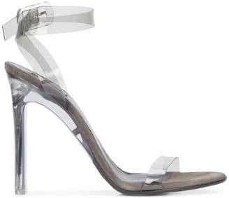 Yeezy transparent strap sandals