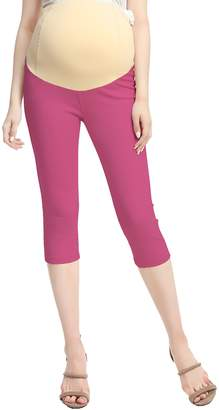 Momo Maternity Cotton Capri Jeggings