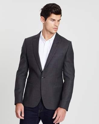 Ben Sherman British Crepe Weave Gingham Jacket