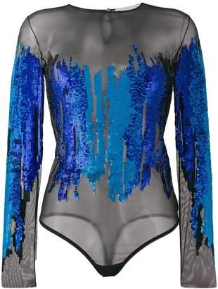 Amen sequin embellished body