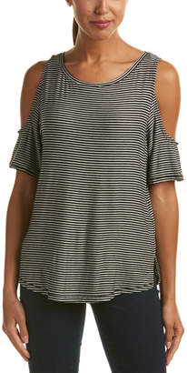 NYDJ Aria Cold-Shoulder T-Shirt
