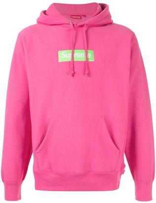 Supreme box logo hooded sweatshirt