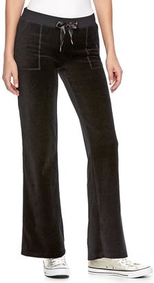 Women's Juicy Couture Bootcut Velour Pants $50 thestylecure.com