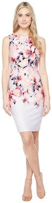 Christin Michaels - Cortland Printed Dress Women's Dress $119 thestylecure.com