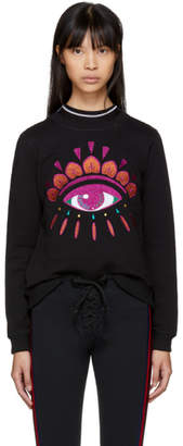Kenzo Black Limited Edition Holiday Eye Sweatshirt