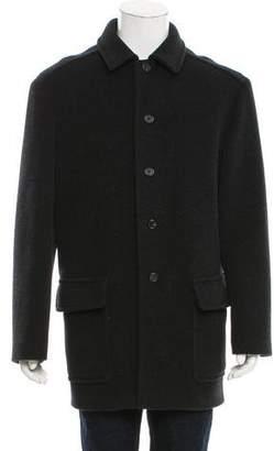 Prada Deconstructed Wool Coat