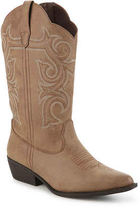 Celebrity Pink Dusty Wide Calf Cowboy Boot - Women's