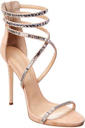642c7a906f1 Giuseppe Zanotti By Jennifer Lopez Harlee Suede Sandal