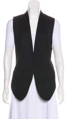 Helmut Lang Wool Collarless Vest