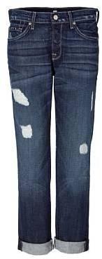 Seven for all Mankind Blue Jared Slacker Boyfriend Jeans