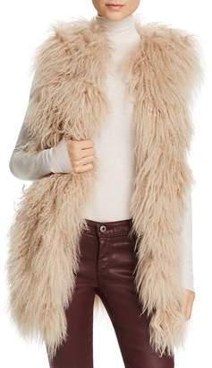 Jocelyn Tibetan Lamb Fur Vest - 100% Exclusive