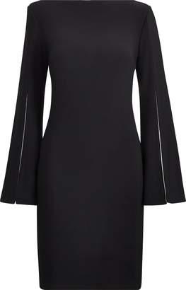 Ralph Lauren Split-Sleeve Jersey Dress