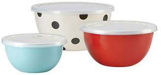Kate Spade Set of Three Serve and Store Bowls