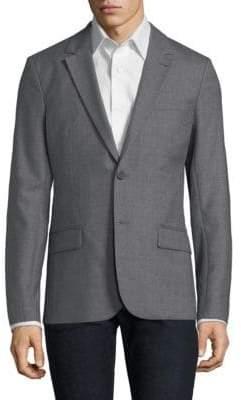Ami Wool Notch Lapel Sportcoat