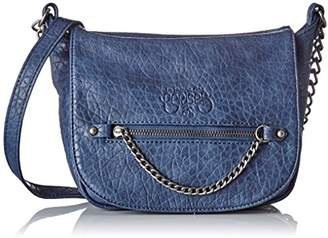 Le Temps Des Cerises Women LTC4P69 Cross-Body Bag Blue