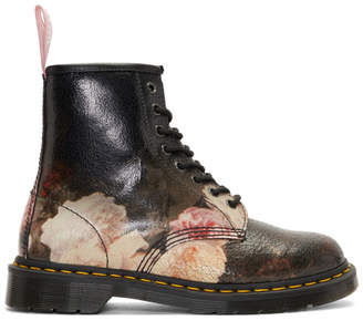 Dr. Martens Multicolor New Order Power, Corruption and Lies 1460 Boots