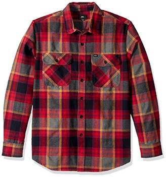 Obey Men's Canvas Long Sleeve Woven Shirt