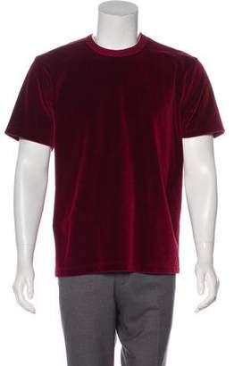 Our Legacy Velvet Crew Neck T-Shirt