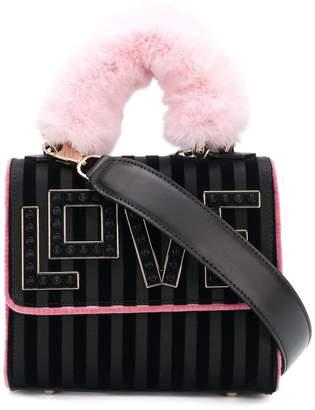 Les Petits Joueurs Love embellished shoulder bag