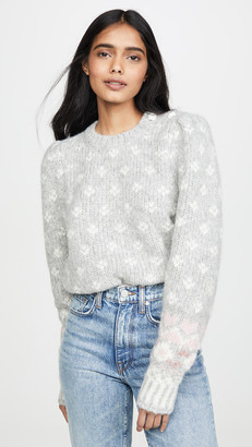 LoveShackFancy Rosie Alpaca Sweater